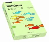 Rainbow gekleurd papier A4 80 gram 72 lichtgroen 500 vel