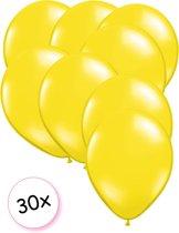 Ballonnen Geel 30 stuks 27 cm