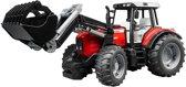 Bruder Massey Ferguson Tractor met Voorlader