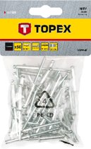 Topex Popnagels 4,8x28mm 50st