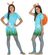 8916d100a0a6c4 Dieren verkleedset jurkje slak slakken voor meisjes - carnavalskleding -  voordelig geprijsd 128 (