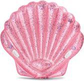 Schelp opblaasbaar Intex roze 178x165x24 cm