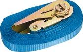Spanband - Met ratel - 5 meter - Blauw