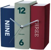 Table clock Book contradiction paper, 20x15x20cm