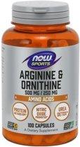 Arginine & Ornithine 500/250mg 100caps