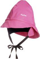 Playshoes Fleece Regenhoed Kinderen - Roze - Maat (49CM)