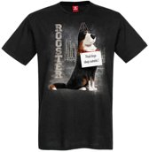 The Secret Life of Pets Heren Tshirt -XL- Rooster Zwart