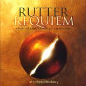 John Rutter: Requiem; Veni Sancte Spiritus; What sweeter music; Hymn to the Creator of Light; Cantate Domino; Cantus; Te Deum