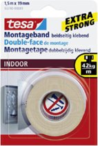 Tesa Montagetape Indoor - 1,5 m x 19 mm