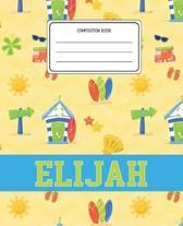 Composition Book Elijah