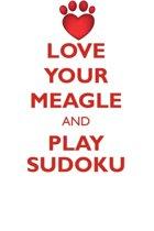 Love Your Meagle and Play Sudoku Meagle Sudoku Level 1 of 15