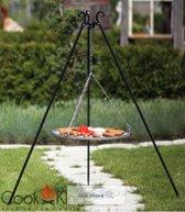 COOKKING BBQ rooster 70 cm met driepoot 180cm