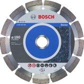 Bosch - Diamantdoorslijpschijf Standard for Stone 180 x 22,23 x 2 x 10 mm