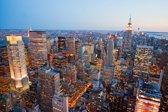 Fotobehang - Skyline New York - 390x260 cm. Vliesbehang 150 grams. Art. F045.07