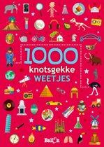 Boek cover Weetjesboeken 0 - 1000 knotsgekke weetjes van Diverse auteurs