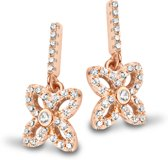 Velini jewels -EA6519R -Oorbellen -925 Zilver rosé -Cubic Zirkonia