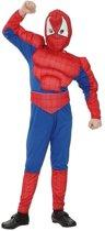 Spinnenheld kostuum voor jongens 120-130 (7-9 jaar)