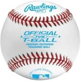 Rawlings TVB Zachte Trainings Honkbal - Wit - 9 Inch