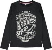 Name it Jongens T-shirt - Black - Maat 134-140