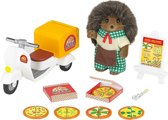 Sylvanian Families 5238 Pizzabezorgset  - Speelfigurenset