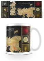 Game Of Thrones Map - Mok