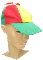 Baseball cap propeller rood/geel/gr