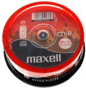 Maxell Music CD-R 80 minuten 25 stuks