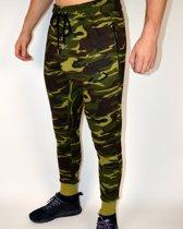 Fitness Broek Fleece | Camo - Disciplined Apparel