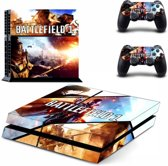 Battlefield 1 - PlayStation 4 sticker - PS4 BF1 console skin bundel