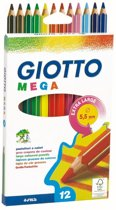 12 Giotto Mega Potloden In Ds 225600