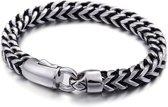 Zware Herenarmband – Brede Schakel Armband –  61 Gram