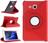 Samsung Galaxy Tab A 7.0 inch (2016) T280 / T285 Hoes Cover 360 graden draaibare Case Rood