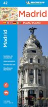 Michelin Madrid Map 42