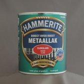 Hammerite Metaallak Zijdeglans Rood 0,75L