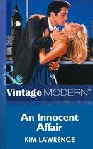 An Innocent Affair (Mills & Boon Modern) (Triplet Brides, Book 3)