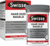 Swisse Haar Huid Nagels Multivitaminen Voedingssupplement - 60 Tabletten