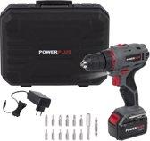 Powerplus POWE00031 Accuboormachine - 14,4 V - 1,3 Ah - Li-ion - Incl. 14 accessoires