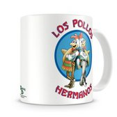 Breaking Bad mok / beker Los Pollos - 325 ml - Porselein