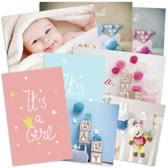 geboorte wenskaartenpakket