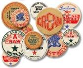 Jenni Bowlin chipboard buttons milk cap