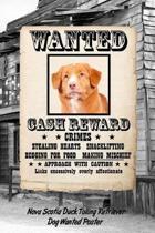 Nova Scotia Duck Tolling Retriever Dog Wanted Poster