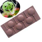 ProductGoods - Siliconen Chocoladevorm in een Smileyvorm - Chocolade Mal Fondant Bonbonvorm