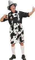 """""""Koeien salopette voor volwassenen - Verkleedkleding - Medium"""""""