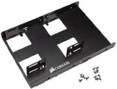 Corsair CSSD-BRKT2 3.5'' Carrier panel Zwart drive bay panel