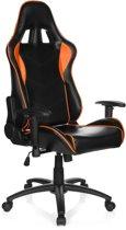 hjh office Racing Speilberg III - Bureaustoel -  Zwart / oranje