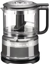 KitchenAid Mini Food Processor 5KFC3516 - Hakmolen - Contour zilver