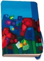 Ton Schulten Flowers Notitieboekje Softcover Formaat 14 8 X 21 Cm Medium Gelinieerd