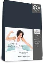 Bed-Fashion Mako Jersey hoeslakens de luxe 140 x 210 cm marine