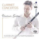 Vladimir Soltan: Clarinet Concertos