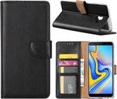 Hoesje voor Samsung Galaxy J6 PLUS 2018 - Book Case - Zwart